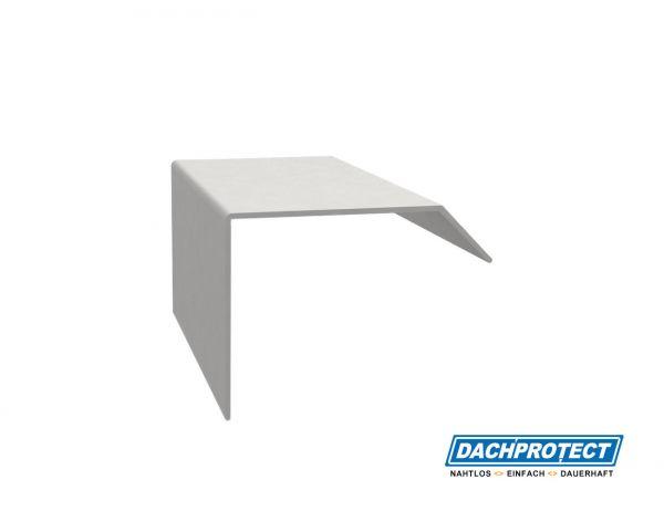 Verbinder ISOS, Silber RAL 9006 für ISOS Dachrandprofile und Ecken