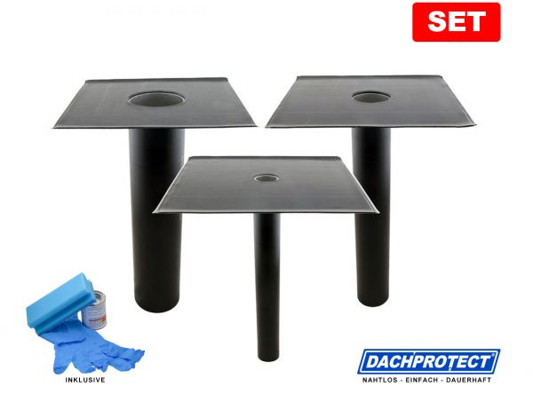 SET: DACHPROTECT® Garantie-Gully (DN 50 - 125 mm wählbar) inkl. Aktivierung