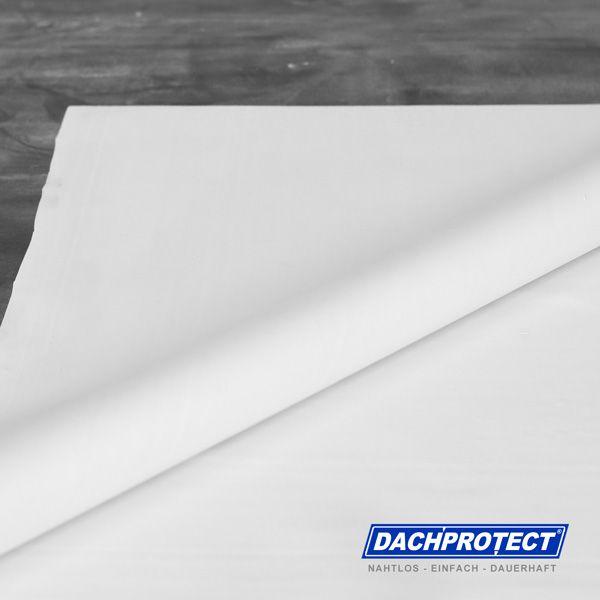 DACHPROTECT® EPDM Dachbahn WEIß; Stärke 1,5 mm - mit bauaufsichtlicher Zulassung