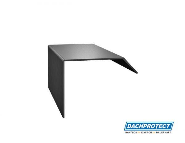 Verbinder ISOS, Anthrazit RAL 7016 für ISOS Dachrandprofile und Ecken